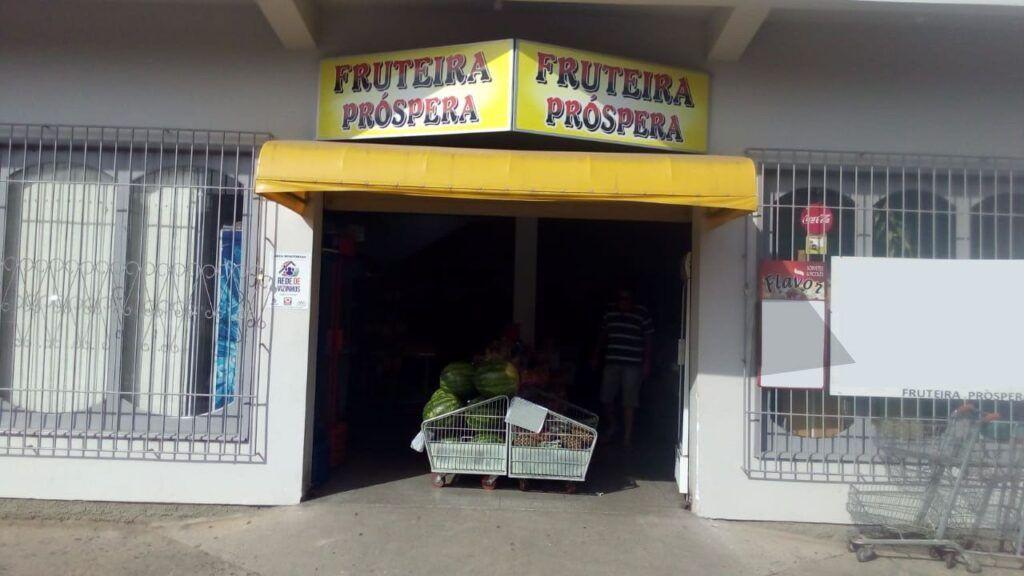 Faxada Fruteira Próspera, fruteira no bairro próspera