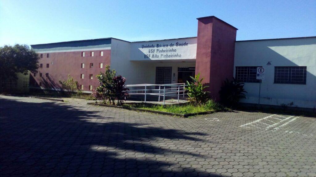Unidade básica de saúde do bairro Pinheirinho