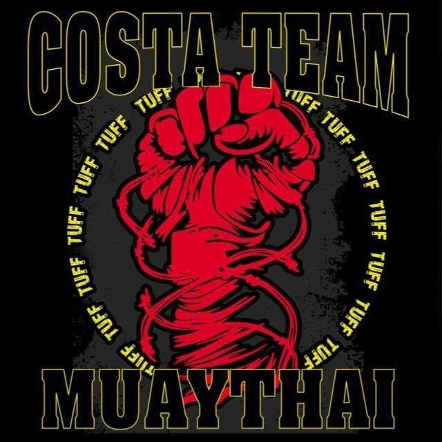 Logo Marca Costa Team Muaythai