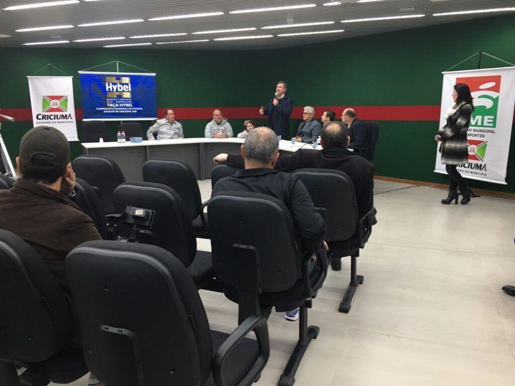 Lançamento campeonato Larm de Criciúma e Região
